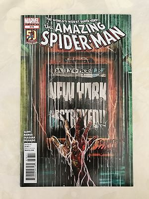 Amazing Spider-Man (1998 2nd Series) #678 signed by Mike Del Mundo VF Very Fine