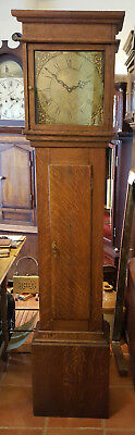 Antique Brass Faced Grandfather Clock Delivery Arranged