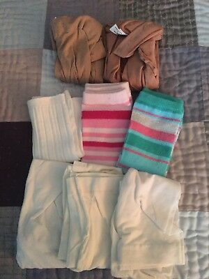 Lot Of Girls Dance Tights And Legwarmers