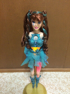 Barbie Fairytopia Glowing Fairy Jewelia Doll Light Up Tattoo Rare
