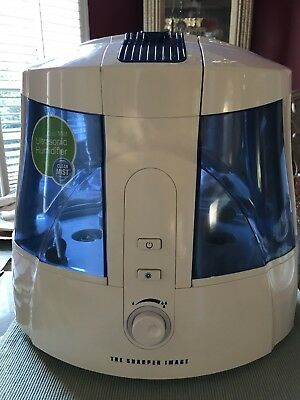 The Sharper Image Ev Hd15 Cool Mist Ultrasonic 16 Gallon Quiet