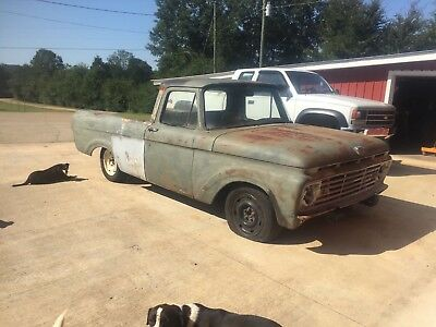 1961 Ford F-100 Unibody Short Wheel Base 1961 Ford Unibody Truck Short Wheel Base clean frame Crown Victoria front end