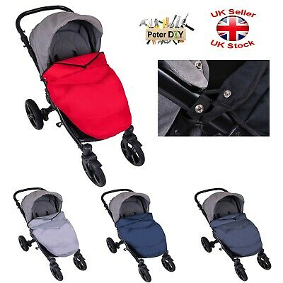 Universal Footmuff Cosytoes Apron Fit Buggy Pushchair Stroller Pram
