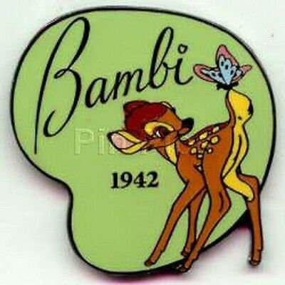 Bambi and butterfly dated 1942 Authentic Disney pin