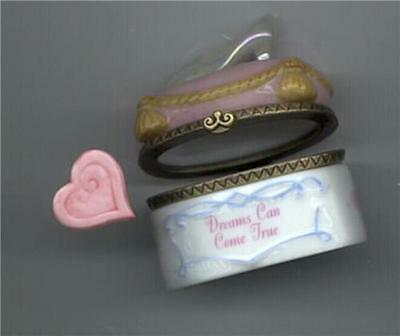 Disney Cinderella Slipper Figurine Mint  Porcelain PHB