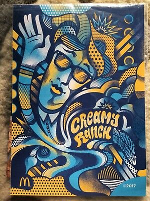 McDonalds Rick and Morty Creamy Ranch Sticker Limited Edition Szechuan  RARE!