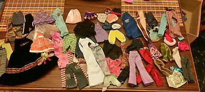LOT of Barbie Doll Size My Scene Small other Doll Clothes Lot - 43 pieces