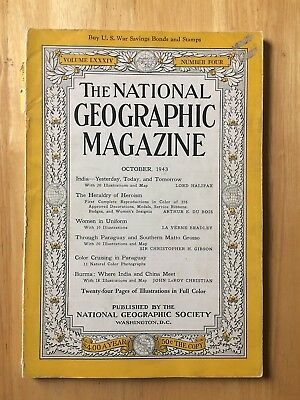 National Geographic 1943++Decorations,Badges,Medals
