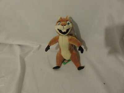 """9"""" cute soft Hammy American red squirrel over the hedge gosh plush doll new tag"""