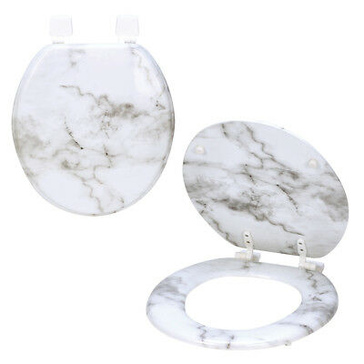Swell Bath Bliss Marbleized Print Toilet Seat Beige Fits Caraccident5 Cool Chair Designs And Ideas Caraccident5Info