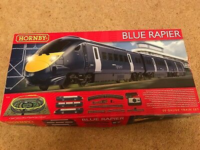Hornby Blue Rapier R1139 Train Set South Eastern Highspeed OO Gauge Boxed - MINT