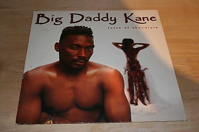 "Big Daddy Kane - Taste Of Chocolate 12"" Vinyl LP 1990 Classic Rap Hip Hop Record"