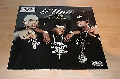 """G-Unit – Wanna Get To Know You / Angels 12"""" Vinyl Single 2004 50 Cent"""