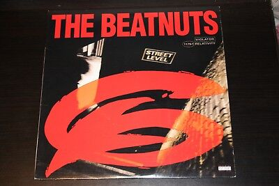The Beatnuts - Street Level LP Vinyl 1994 Relativity Rap Hip Hop Excellent