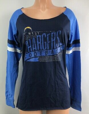 3983f5e9 WOMEN'S LOS ANGELES Chargers Shirt Long Sleeve Shirt Top S M L LA Chargers  NEW