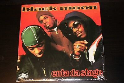 Black Moon - Enta Da Stage LP Vinyl 1993 Wreck Records Rap Hip Hop Rare NM