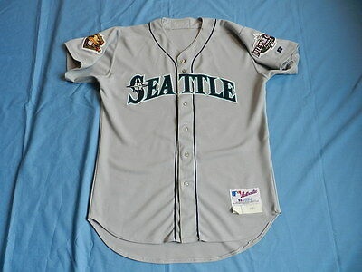 Charles Gipson 2001 Seattle Mariners game used jersey size 48+2 tapered
