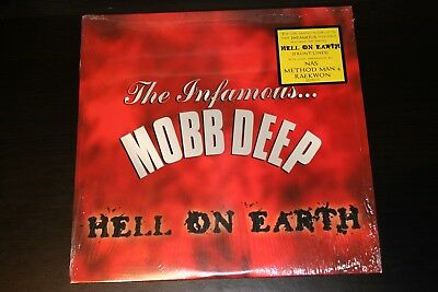 Mobb Deep - Hell On Earth 2xLP Vinyl 1996 Loud Records Rap Hip Hop Rare NM