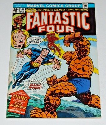 Fantastic Four #147 comic (N/mint) 9.2! Thing Vs. Sub-Mariner
