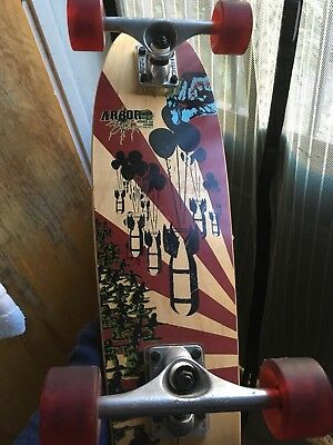 Arbor Axis Bamboo Complete Longboard