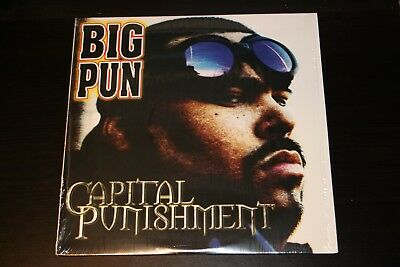 Big Punisher - Capital Punishment 2xLP Vinyl 1998 Loud RCA Rap Hip Hop Rare NM