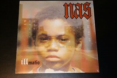 Nas - Illmatic LP Vinyl 1994 Columbia Rap Hip Hop Rare NM Classic
