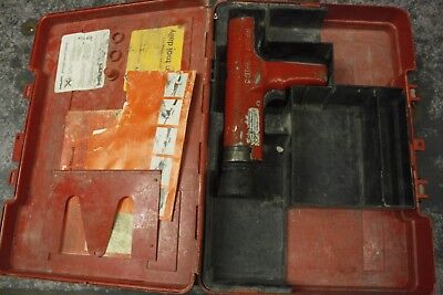 Hilti DX35 Powder Actuated Concrete/Steel Nail Gun
