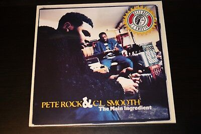 Pete Rock & C.L. Smooth - The Main Ingredient 2LP Vinyl 1994 Rap Hip Hop Rare NM