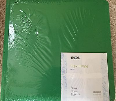 NEW - Creative Memories 12 x 12 Green Coverset & Pages & Protectors