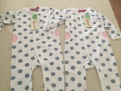 Brand New x 2 Toddler 000 Onsie Outfit