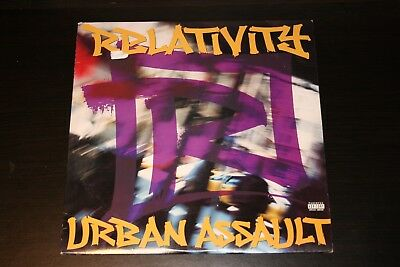 Various - Relativity Urban Assault LP Compilation Vinyl 1996 Rap Hip Hop Rare