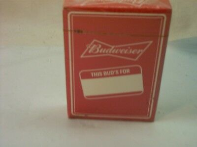 Budweiser This Buds For You Deck Of Cards Sealed New