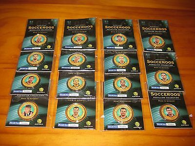 Herald Sun Australian Socceroos Medallion Collection Road to germany 2006