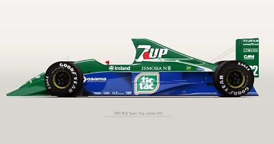 1/20 Tamiya 20032 Jordan 191 Decal sticker f1 Michael Schumacher Zanardi Gachot