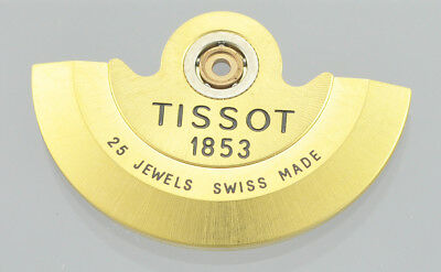 Original TISSOT Gold Plated Stainless Steel 1853 Swiss ETA 2824 25 Jewell Rotor