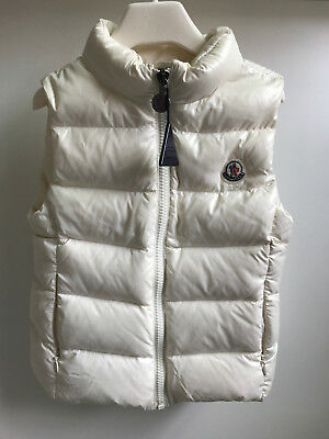 0d8253ddfdf8 MONCLER TODDLER GIRL Puffer Vest Size 4 Years New -  199.99