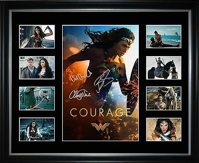 Wonder Women Limited Edition Framed Memorabilia