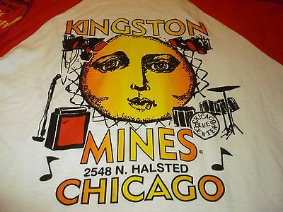 Kingston Mines Shirt ( Used Size L ) Nice Condition!!!