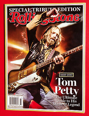 Rolling Stone Special Collector's 2017 Tom Petty 1950-2017 BRAND NEW BOOK