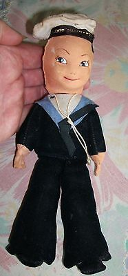 """Norah Wellings Collectable """"FEDOR SHALYAPIN"""" Sailor Cloth Doll - (Rare)"""