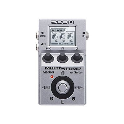 ZOOM MS-50G MULTI STOMP Multi-Effects Guitar Pedal From Japan