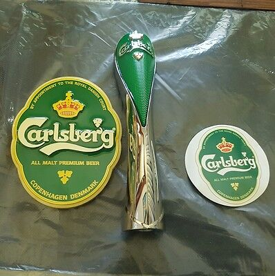 BEER Carlsberg Beer Tap Badge and Handle