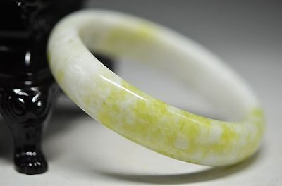 Delicate Chinese Natural jade Hand Carved Bracelet Bangle ad10