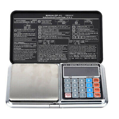 1kg/0.1g 1000g Portable LCD Digital Pocket Scale Calculator Weight Balance M7E1