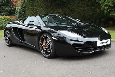 2013 McLaren MP4-12C Spider High Specification including Vehicle Lift Petrol bla