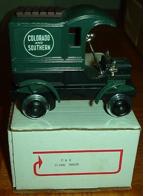 NL Trainworks IColorado & Southern Rail Truck (Powered) *G-Scale*
