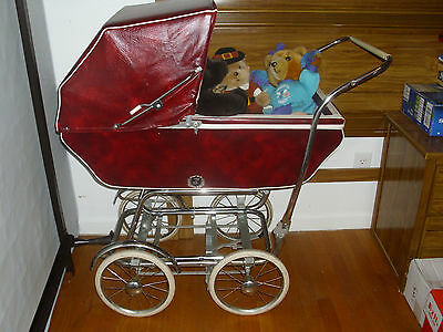 """Moving To Texas Sale """"antique Carriage/bassinet"""" 1940-50's 2 Pieces Reduced Sale"""