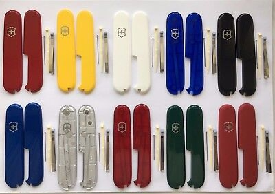 SWISS ARMY  VICTORINOX 91mm SCALES/HANDLES  WITH TWEEZER+TOOTHPICK+PIN