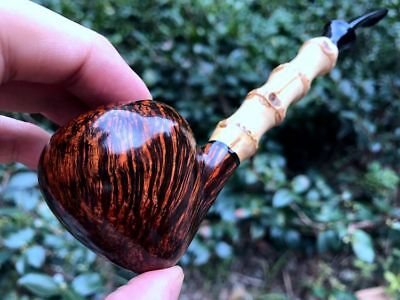 Jack Su's pipe, Briar wood pipe---- unsmoked