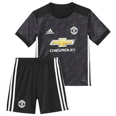 2017 Manchester Utd Home Away Child Kids Youth Football Kit Shirt 1-13 year